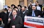 There is a paradoxical situation here: Russian-speaking Storobin's support came overwhelmingly from the Ultra-Orthodox, and not the mainstream Russian-American community.