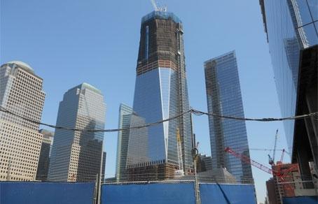 В нью йорке завершено строительство 100