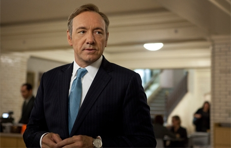 Кевин Спейси в сериале «House of Cards».