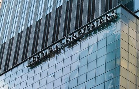 Лендинг банкротство lehman brothers