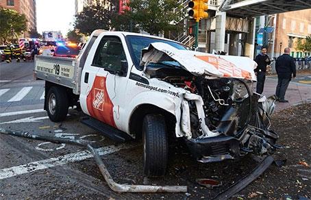 Теракт вНью-Йорке: погибли 8 человек