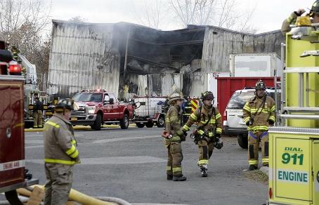 При взрывах нафабрике вштате Нью-Йорк пострадали 75 человек