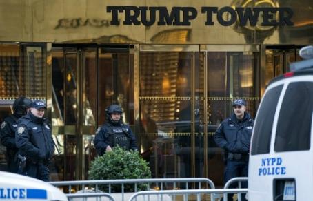 Полиция Нью-Йорка получила сообщение о террористах, готовивших взрыв у Trump Tower
