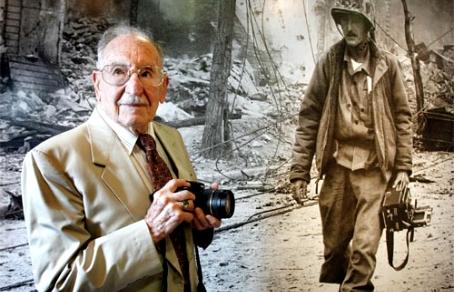 Умер автор знаменитого фото с уничтожившим Хиросиму экипажем Enola Gay