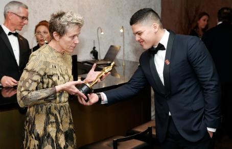 У Фрэнсис Макдорманд, получившай «Оскара» за лучшую женскую роль, украли статуэтку