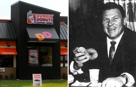 Основатель Dunkin' Donuts Уильям Розенберг