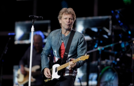 На лейбле Island Records вышли альбом Bon Jovi «2020». Фото: © BRILL ULLSTEIN / GETTY IMAGES