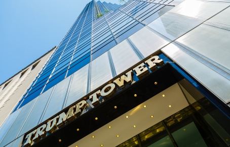 Здание Trump Tower. Фото: MBBIRDY / GETTY IMAGES