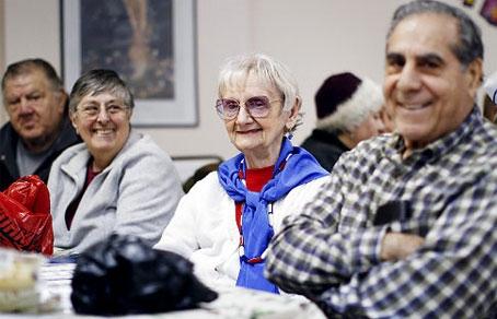 знакомства пожилых нью йорке