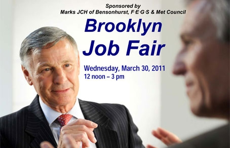 BROOKLYN  JOB FAIR at Marks JCH of Bensonhurst