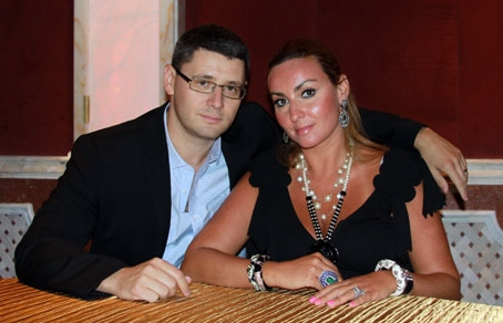 Main characters of the Russian Dolls reality show - Marina and Michael Levitis.