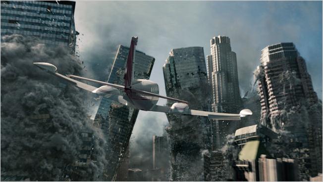 Кадр из фильма 2012, в котором представлена одна из версий конца света 21 декабря 2012