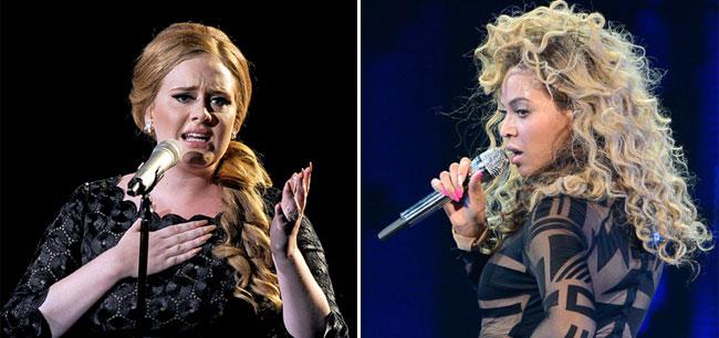 ТОП-10 самых высокооплачиваемых певиц 2012 года по версии Forbes: Адель и Бейонсе