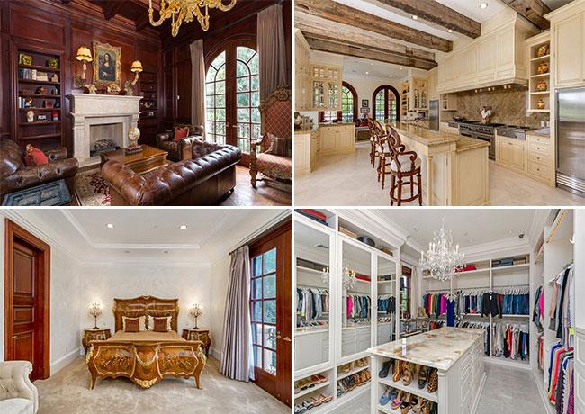 Наследник империи Coca-Cola Алки Дэвид продал дом в Беверли-Хиллз со скидкой в $10 миллионов. Фото: SOTHEBY'S INTERNATIONAL REALTY