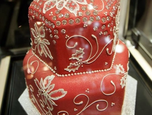 Японский бриллиантовый торт.