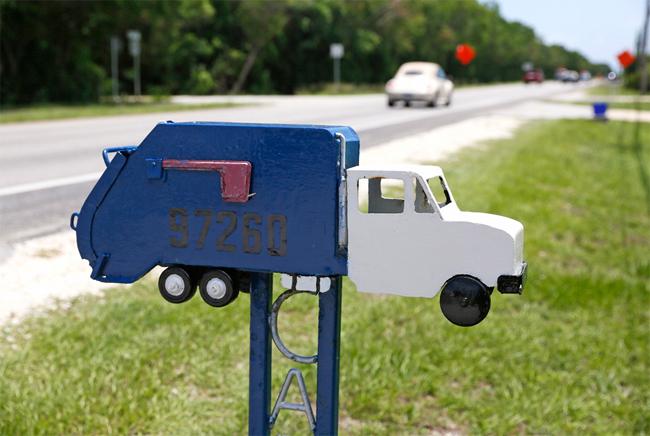 Флорида-Киз. Почтовые ящики тропического архипелага соревнуются в оригинальности
