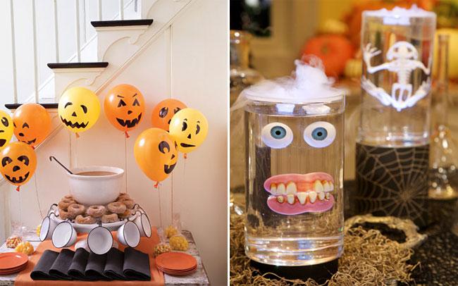 Как украсить дом на хеллоуин своими руками