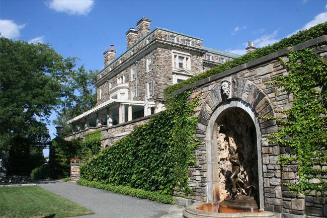 Поместье Кайкут - резиденция четырех поколений клана Рокфеллеров.