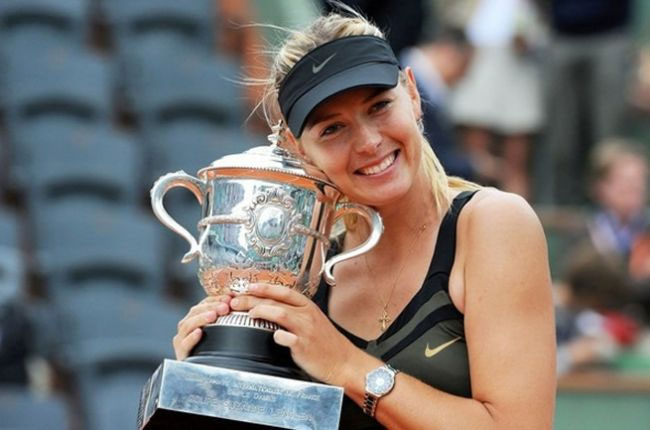 Теннисистка Мария Шарапова.