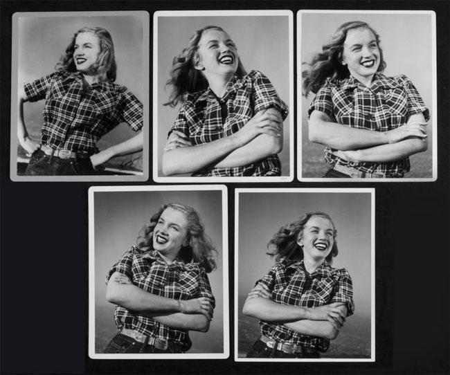 Аукционный дом Julien's Auction выставил на продажу около 100  фотографий кинозвезды Мэрилин Монро, которые были сделаны Алланом «Уайти» Снайдером.
