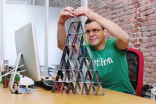 Один из создателей PayPal Макс Левчин. Фото: Affirm via consideragain.com