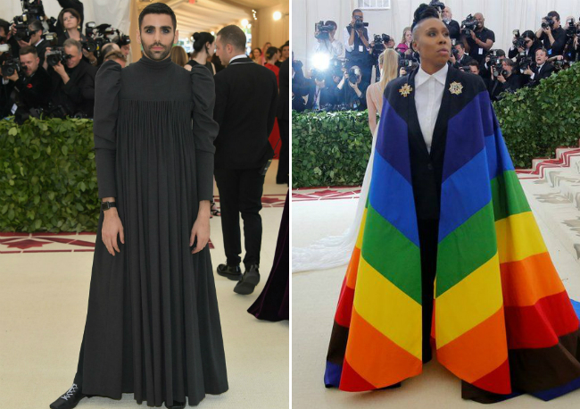 Филипп Пикарди и Лина Уэйт на Met Gala 2018. Фото: NEILSON BARNARD/GETTY IMAGES/REUTERS