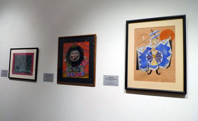 Работы из частной коллекции Михаила Барышникова, представленные на выставке «Art I've Lived With» в Галерее ABA.