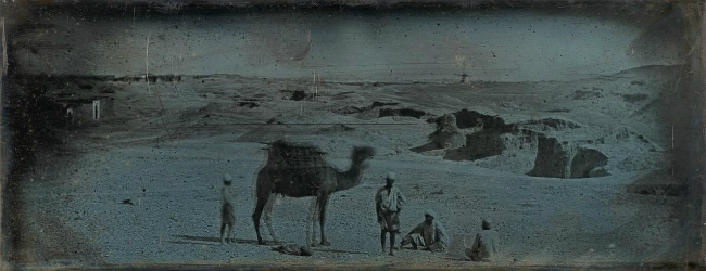 Экспонат выставки 'Monumental Journey: Daguerreotypes of Girault de Prangey' в музее Метрополитен. Фото: THE METROPOLITAN MUSEUM OF ART, NY