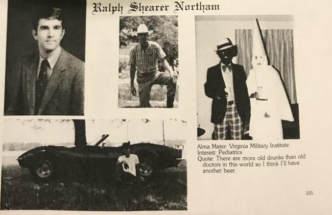 Губернатор Вирджинии Ральф Нортэм отказался уйти в отставку после скандала с «расистской фотографией». Фото: Фото: Ryan Saavedra/Twitter