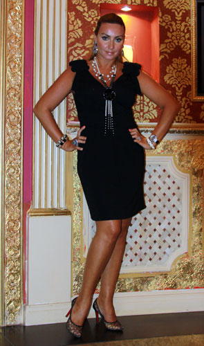 Main character of the Russian Dolls reality show Marina Levitis.