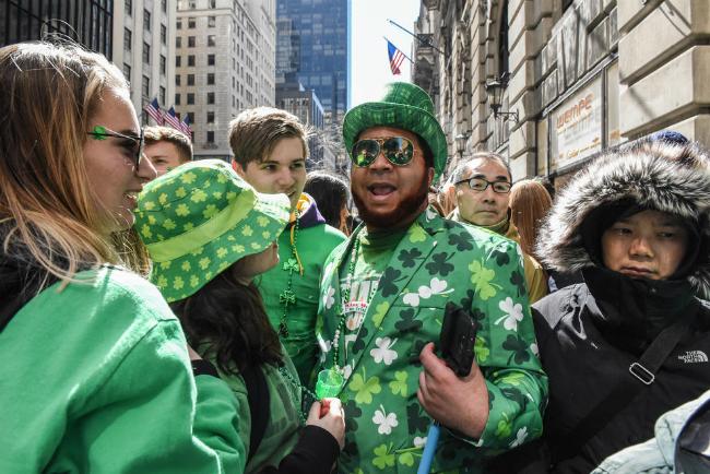 В Нью-Йорке в 257-й раз прошел парад в честь Дня святого Патрика