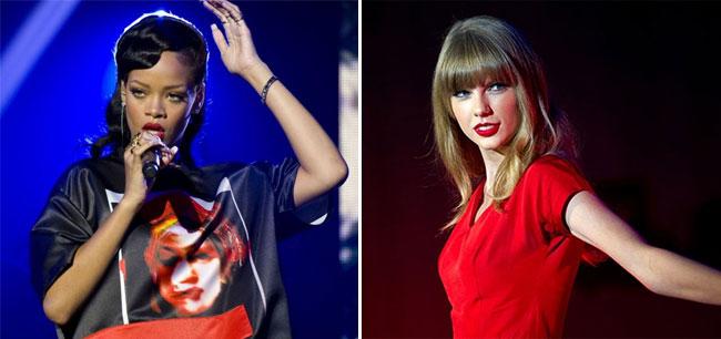 ТОП-10 самых высокооплачиваемых певиц 2012 года по версии Forbes: Рианна и Тейлор Свифт