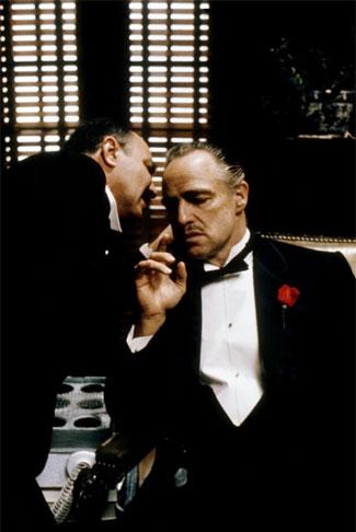 Кадр из фильма «Крестный отец» (The Godfather) режиссера Френсиса Форда Копполы