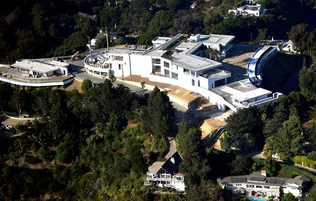 В окрестностях Лос-Анджелеса строят особняк The One, который может стать самым дорогим в мире. Фото: thisischriswhile.com