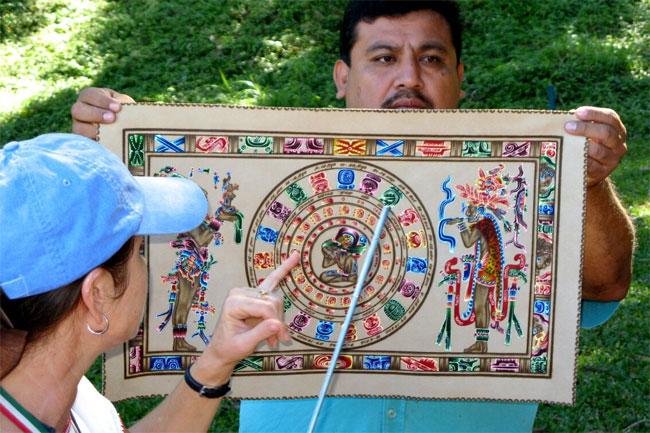 Календарь майя содержит 144000 дней.