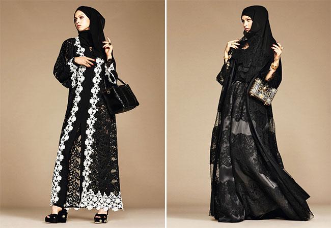 хиджаб фото черный