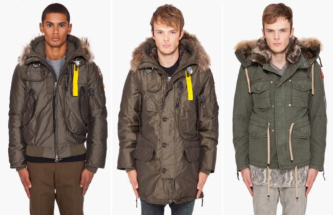 Осенне зимние куртки зеленых оттенков