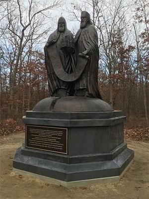 В Нью-Джерси воздвигли памятник Патриарху Алексию II.