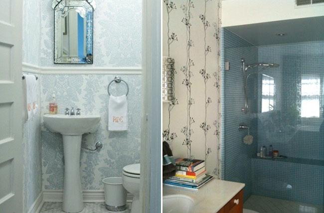 Плитка кураж-2 в интерьере ванной